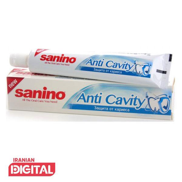خمیر دندان ضد پوسیدگی سانینو 100 میلی
