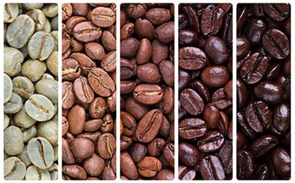 انواع تفت دادن قهوه