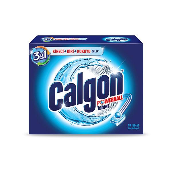 قرص جرم گیر ماشین لباسشویی کالگون ( Calgon ) بسته 15 عددی ترکیه