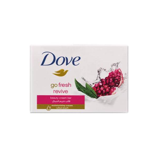 صابون زیبایی کرمی داو (Dove) با رایحه انار و به لیمو 135 گرم