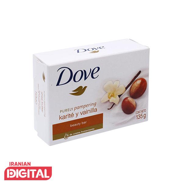 صابون داو شی باتر و وانیل Dove Shea Butter وزن 135 گرم