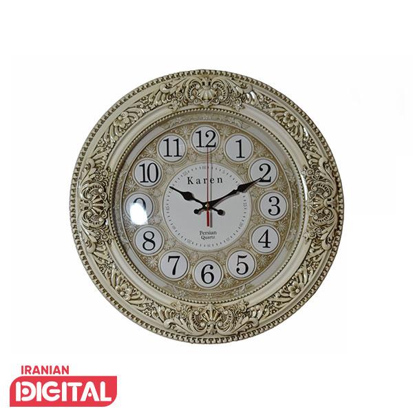 ساعت دیواری پرشین مدل کارن