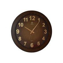 ساعت دیواری مارال ۱۹ طرح چوبی (Maral 19)
