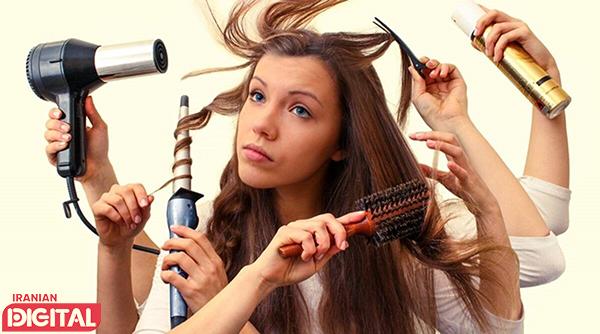 12 اشتباه رایج در مراقبت مو