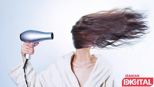 گرمای زیاد سشوار در مراقبت مو