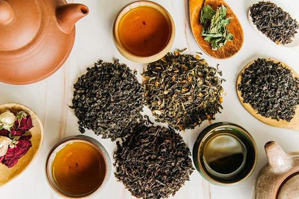 انواع چای و خواص آن ها