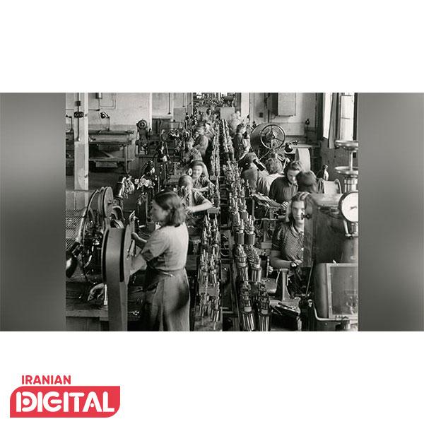 خط تولید بوش با حضور کارگران زن