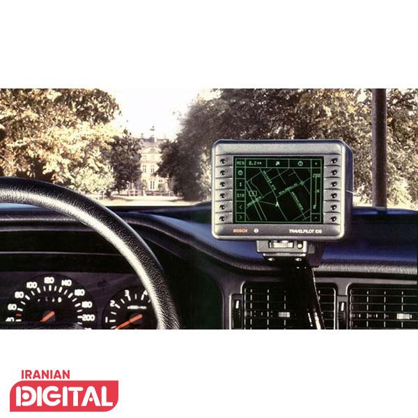 اولین نمونهی سیستم ناوبری خودروی شرکت بوش