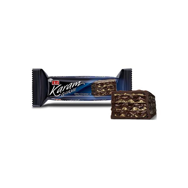 ویفر شکلاتی اتی مدل کارام گورمه Eti karam gurme ترکیه