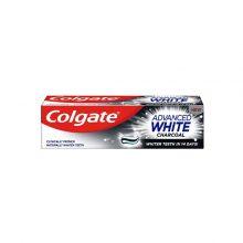 خمیر دندان زغالی کلگیت مدل Advanced White
