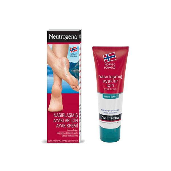 کرم ترک پا نیتروژینا Neutrogena برای پوست خشک